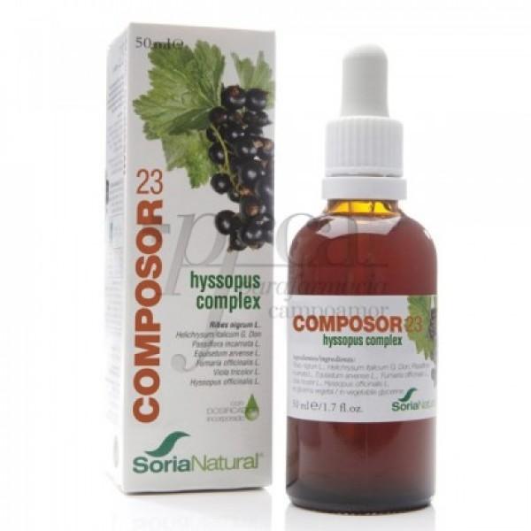 COMPOSOR 23 HYSSOPUS COMPLEX 15023