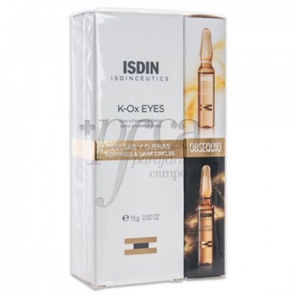 ISDINCEUTICS PACK K-OX EYES 15G + REGALO PROMO