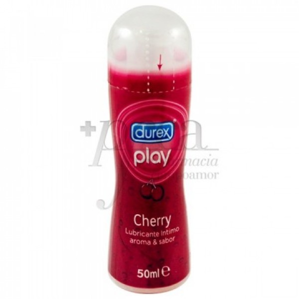 DUREX PLAY CHERRY LUBRICANTE HIDROSOLUBL