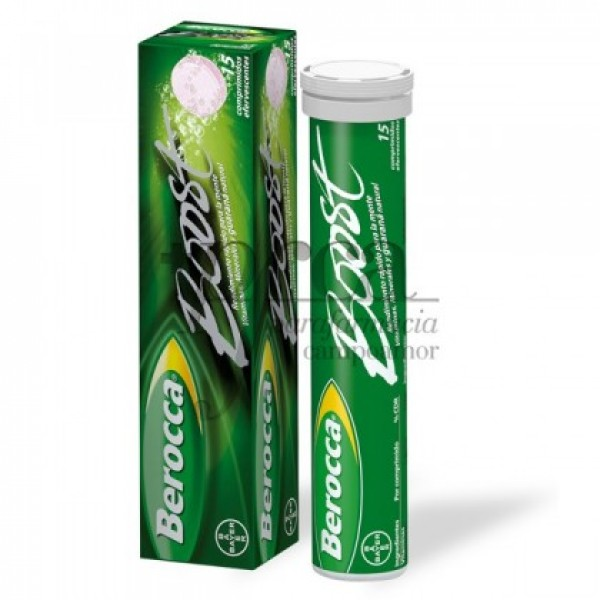 BEROCCA BOOST 15 COMPS EFERVESCENTES