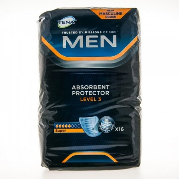 TENA MEN PROTECTOR ABSORBENTE LEVEL 3 16 U