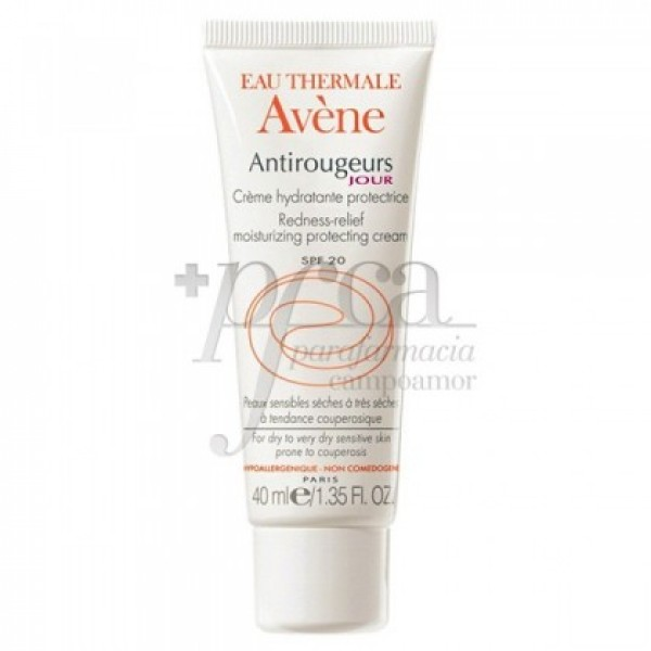 AVENE ANTI-ROJECES DIA CREMA  SPF 20 40 ML