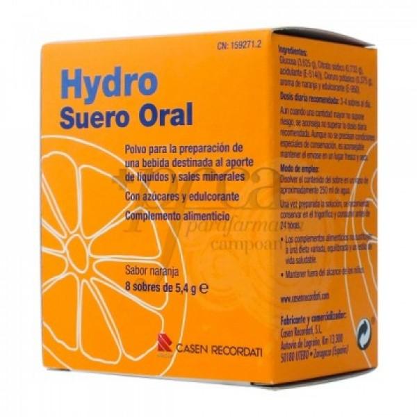 HYDRO SUERORAL 8 SOBRES