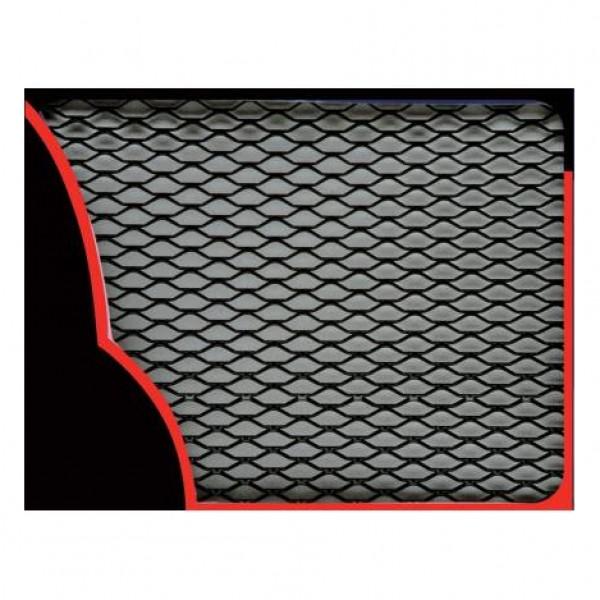 Rejilla aluminio 33x100cm. negra