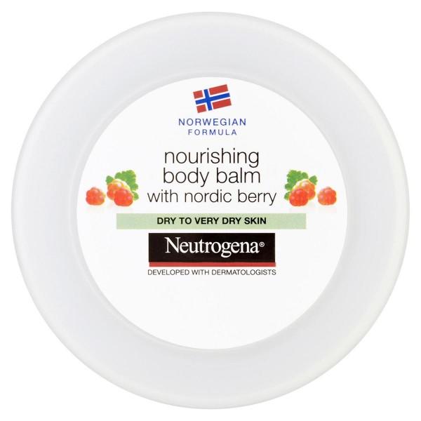 Neutrogena strawberry nourishing body balm cream 200ml