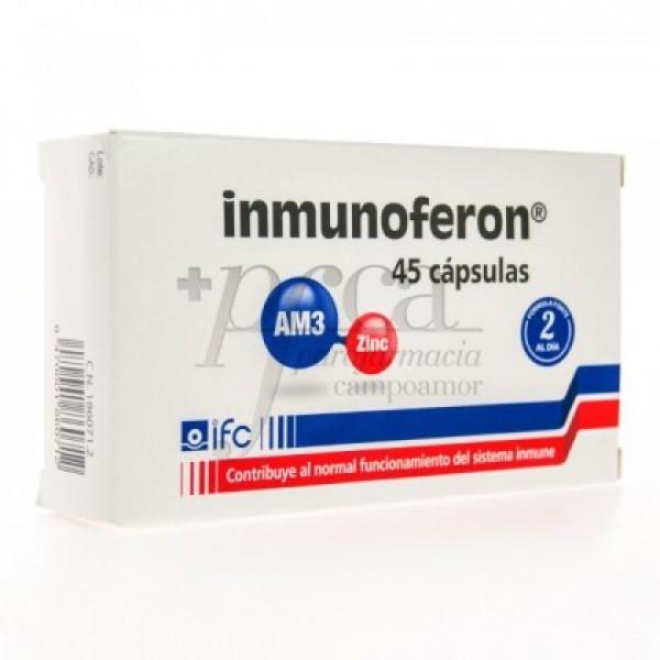 INMUNOFERON 45 CAPS