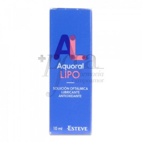AQUORAL LIPO SOLUCIÓN OFTALMICA LUBRICANTE 10 ML