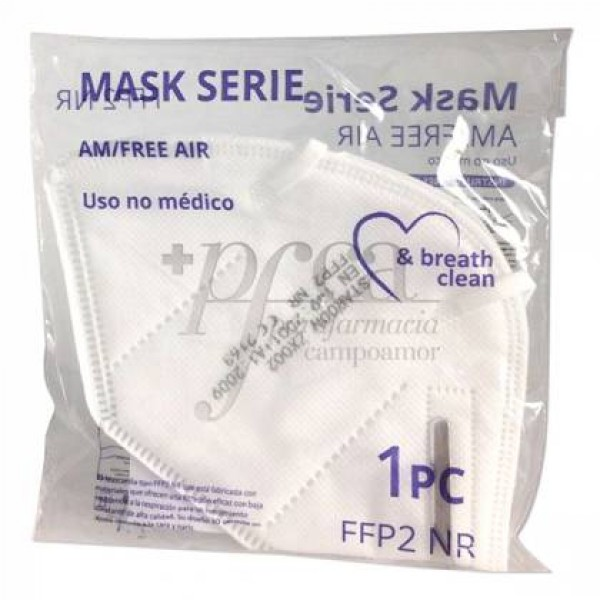MASCARILLA FFP2 NO REUTILIZABLE 4C 1 UD
