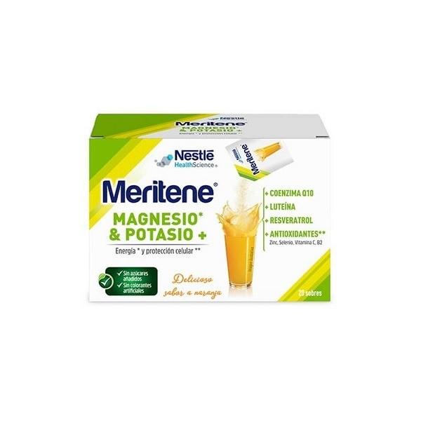MERITENE MG+K 20 SOBRES NARANJA 4.2 G