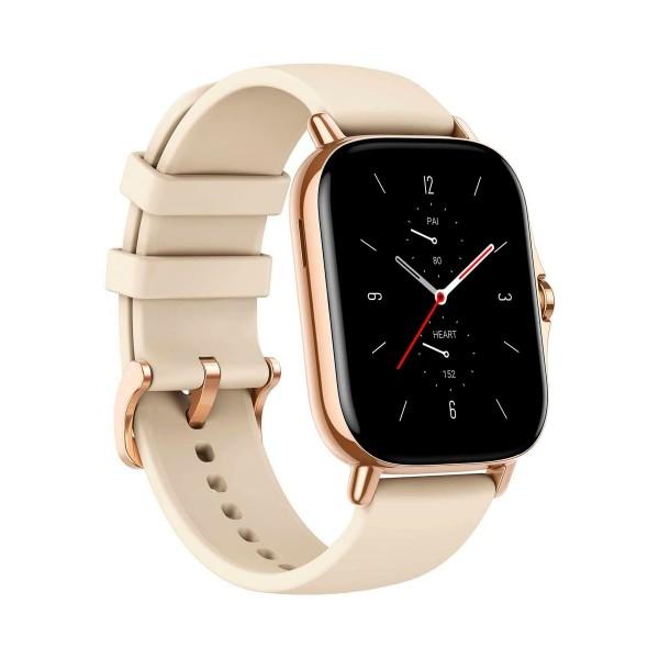 Xiaomi amazfit gts 2 dorado smartwatch 1.65'' amoled gps glonass bluetooth biotracker 5atm