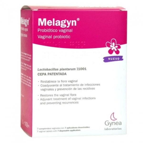 MELAGYN PROBIOTICO VAGINAL 7 COMPS