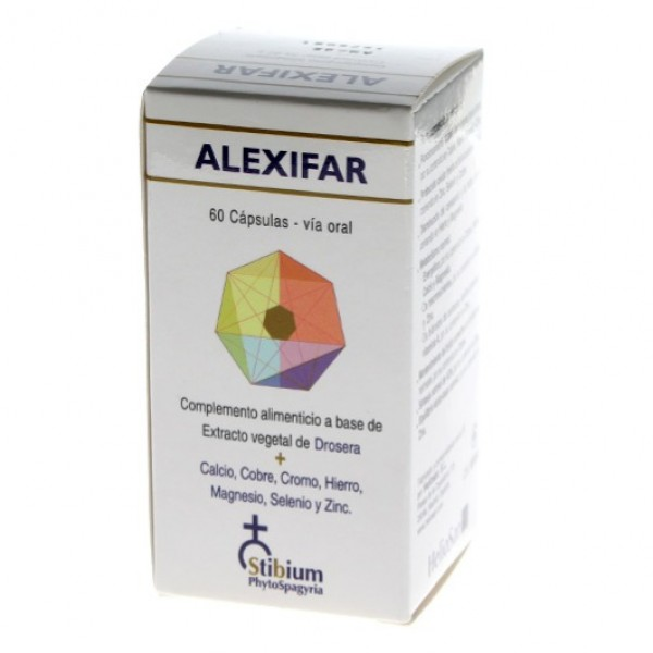 ALEXIFAR 60 CAPSULAS HELIOSAR