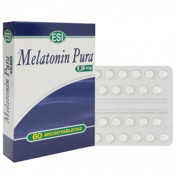 MELATONIN 1,9 MG 60 COMPS ESI