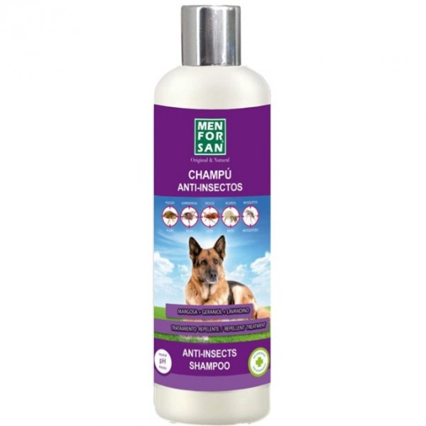 MEN FOR SAN CHAMPU ANIT-INSECTO PARA PERRO 300ML